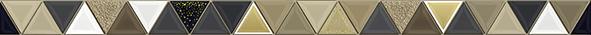 Golden Бордюр BWU55GLD228 3х50 бордюр golden tile petrarca фьюжн 9x30