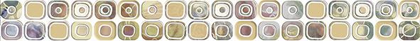Malibu Бордюр BWU56MLB013 5х50 бордюр keros ceramica varna cen roses 5х50