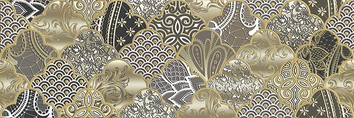 Melissa Декор DWU11MLS728 20х60 декор уралкерамика рида вс11ра034 60x20