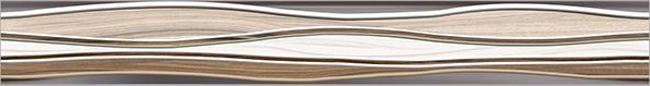 Плессо Бордюр рельефный БД53ПЛ406 / BWU53PLS406 / BWD53PLS406 50х6,7 бордюр уралкерамика melissa 708 3x60