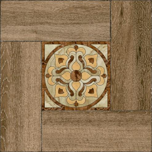 Ранчо Плитка напольная на коричневом коричневая ПГ3РЧ424 41,8х41,8 плитка напольная 41 8х41 8 ранчо коричневый с серой вст