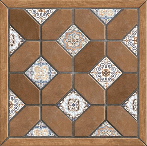 Фиеста Плитка напольная на коричневом коричневая ПГ3ФС404 41,8х41,8 цены онлайн