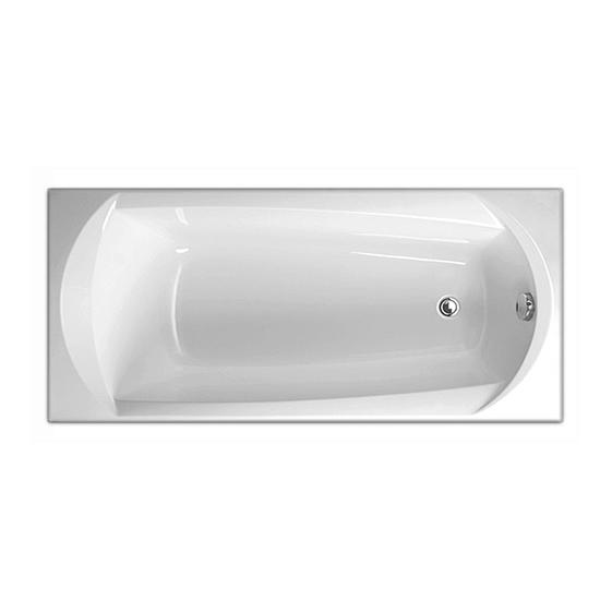 Акриловая ванна Vagnerplast Ebony 170x75 акриловая ванна vagnerplast ebony 170x75