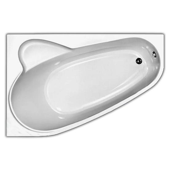Акриловая ванна Vagnerplast Selena 160x105 левая акриловая ванна vagnerplast flora 150x100 левая
