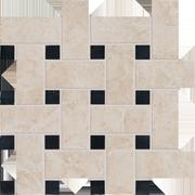 Декор Vallelunga Villa D`Este +20777 Grigio Basketweave