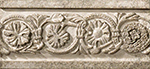 Бордюр Vallelunga Villa D`Este +20780 Grigio Listello Tibur бордюр vallelunga colibri grigio matt 0 8x25