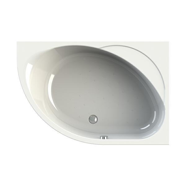 Акриловая ванна Vannesa Мелани R 140x95 акриловая ванна domani spa flora 150 r