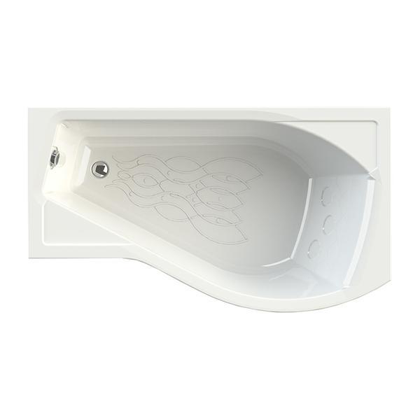 Акриловая ванна Vannesa Миранда R 168x95 акриловая ванна domani spa flora 150 r
