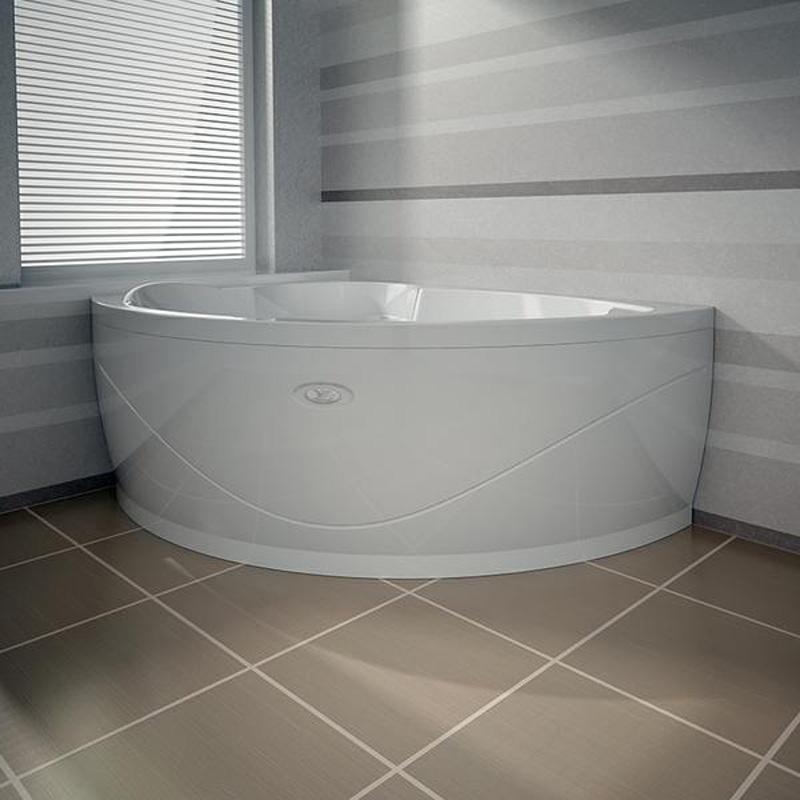 Акриловая ванна Vannesa Алари L 168x120 акриловая ванна vannesa бергамо l 168x100