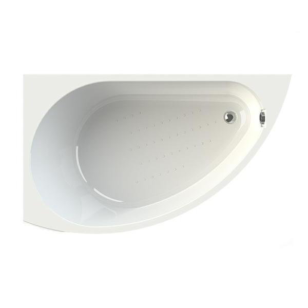 Акриловая ванна Vannesa Бергамо L 168x100 акриловая ванна vannesa алари l 168x120