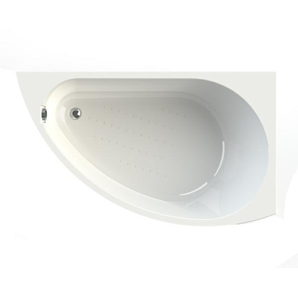 Акриловая ванна Vannesa Бергамо R 168x100 акриловая ванна vannesa ника 150x70