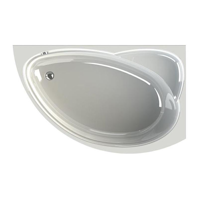 Акриловая ванна Vannesa Модерна R 160x100 акриловая ванна vannesa бергамо l 168x100
