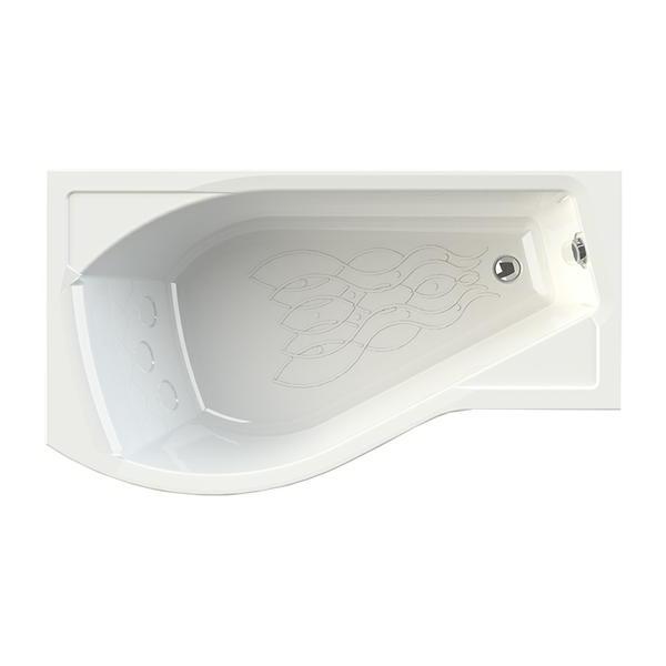 Акриловая ванна Vannesa Миранда L 168x95 акриловая ванна vannesa алари l 168x120