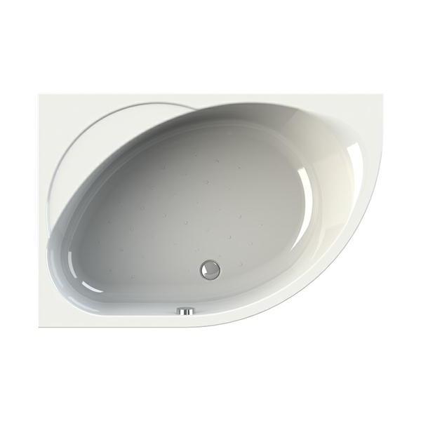 Акриловая ванна Vannesa Мелани L 140x95 акриловая ванна vannesa бергамо l 168x100
