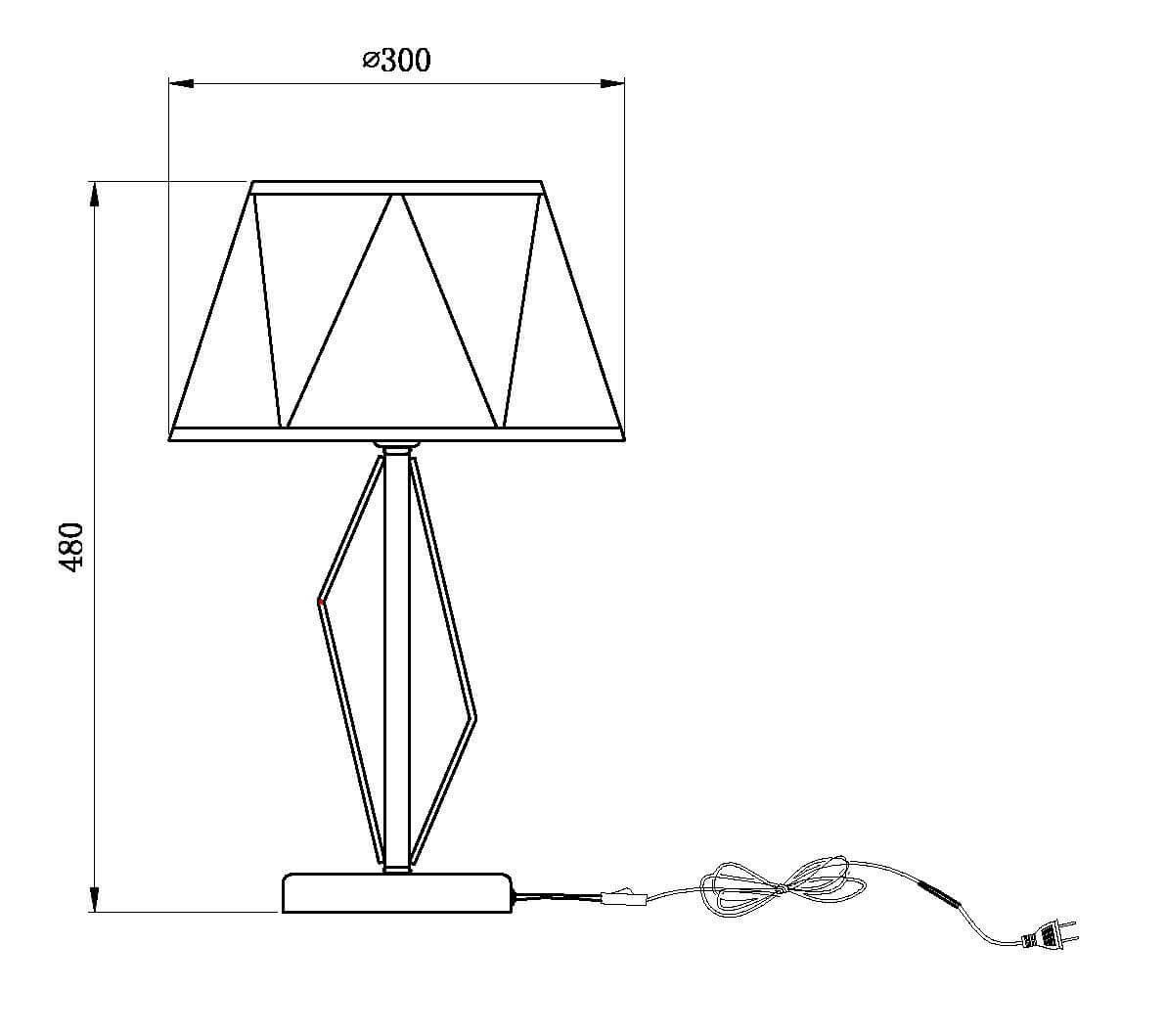 Настольная лампа Vele Luce Si VL2191N01 настольная лампа декоративная vele luce toppi vl1841n01