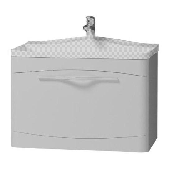 Тумба под раковину Velvex Iva 65 подвесная белая цены