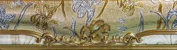 Бордюр Venus Tiffanys +16960 Cenefa Luxury бордюр sinfonia rodenne cenefa anais violet 10x33