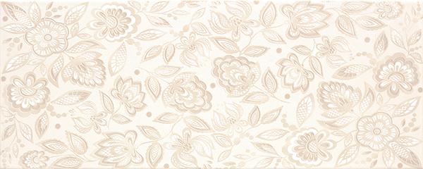 Настенная плитка Venus Aria +16902 Flowers Beige