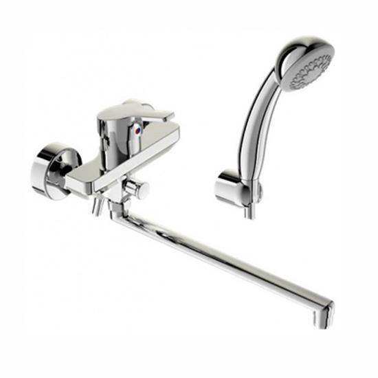 Смеситель Vidima Форм BA067AA для ванны смеситель для ванны vidima видима уно с поворотным изливом цвет хром