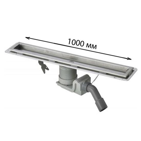 Дренажный канал Viega Visign 618032 100 см цена