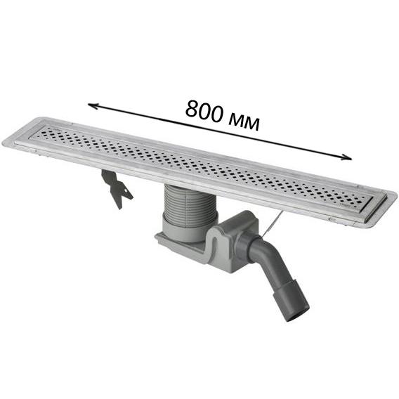 Дренажный канал Viega Visign 619060 80 см цена