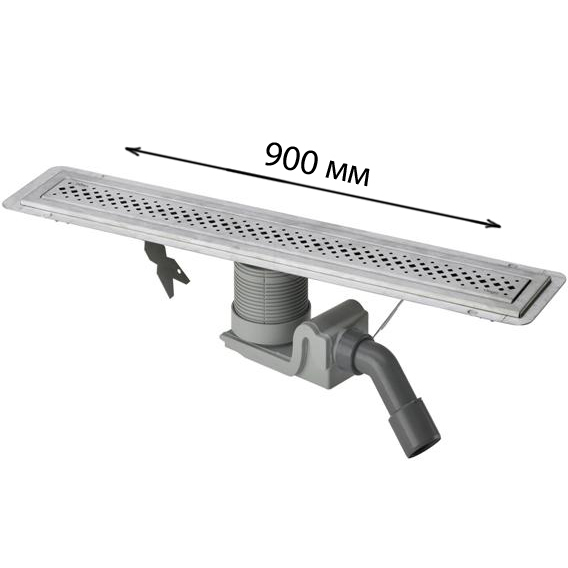 Дренажный канал Viega Visign 619077 90 см цена