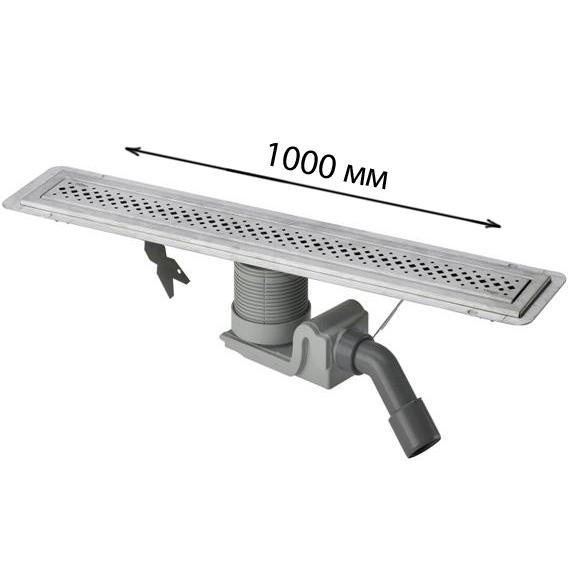 Дренажный канал Viega Visign 619084 100 см цена