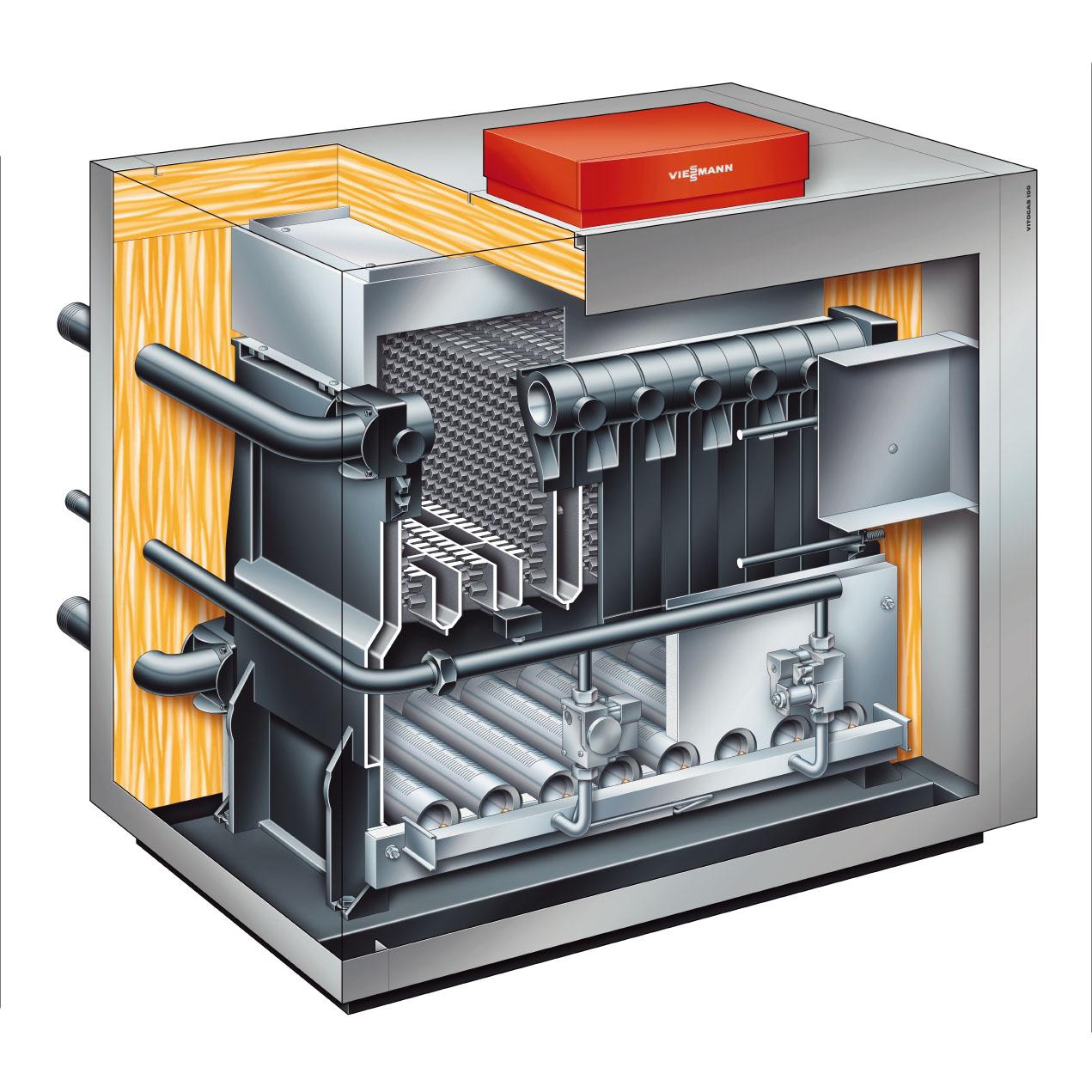 Viessmann и buderus напольные газовые котлы с чугунным теплообменником одноконтурные пластинчатый теплообменник гвс 800литров в час
