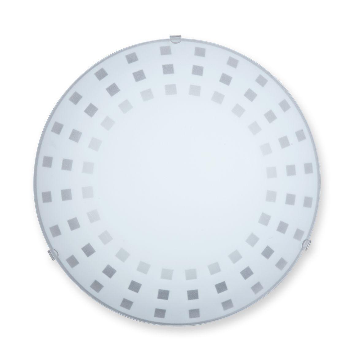 Настенно-потолочный светильник Vitaluce V6001/1A светильник настенно потолочный vitaluce linn v6001 1a 1х100вт е27 металл стекло