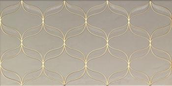 Ethereal Gold Декор Светло-бежевый K082255 30х60 декор vitra ethereal gold geometric decor soft brown glossy 30x60