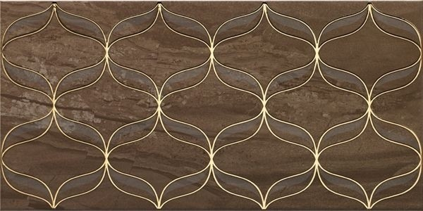 Ethereal Gold Декор коричневый K082266 30х60 декор vitra ethereal gold geometric decor soft brown glossy 30x60