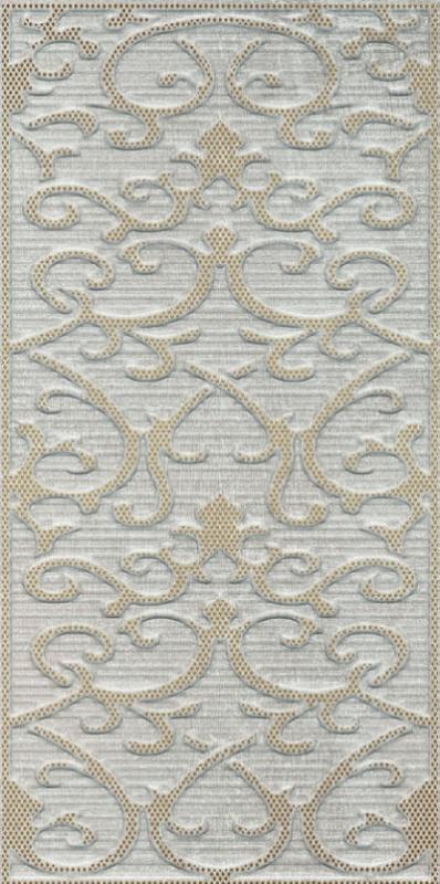 Deja Vu Gold White Декор Damask (K941991) 30x60 декор vitra ethereal gold geometric decor soft brown glossy 30x60