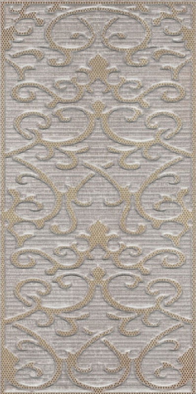 Deja Vu Gold Noche Декор Damask (K941980) 30x60 декор vitra ethereal gold geometric decor soft brown glossy 30x60
