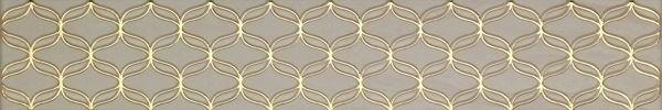 Ethereal Бордюр светло-бежевый K944346 9х60 декор vitra ethereal gold geometric decor soft brown glossy 30x60