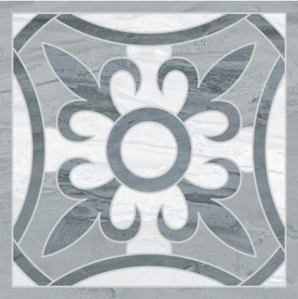Ethereal Декор серый K944125LPR 45x45 декор vitra marfim frame beige 45x45