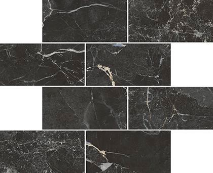 Marmori Мозаика St. Laurent Черный K945631LPR 29x35,6 бусики колечки комплект виола имитация нефрита арт st 537 sss