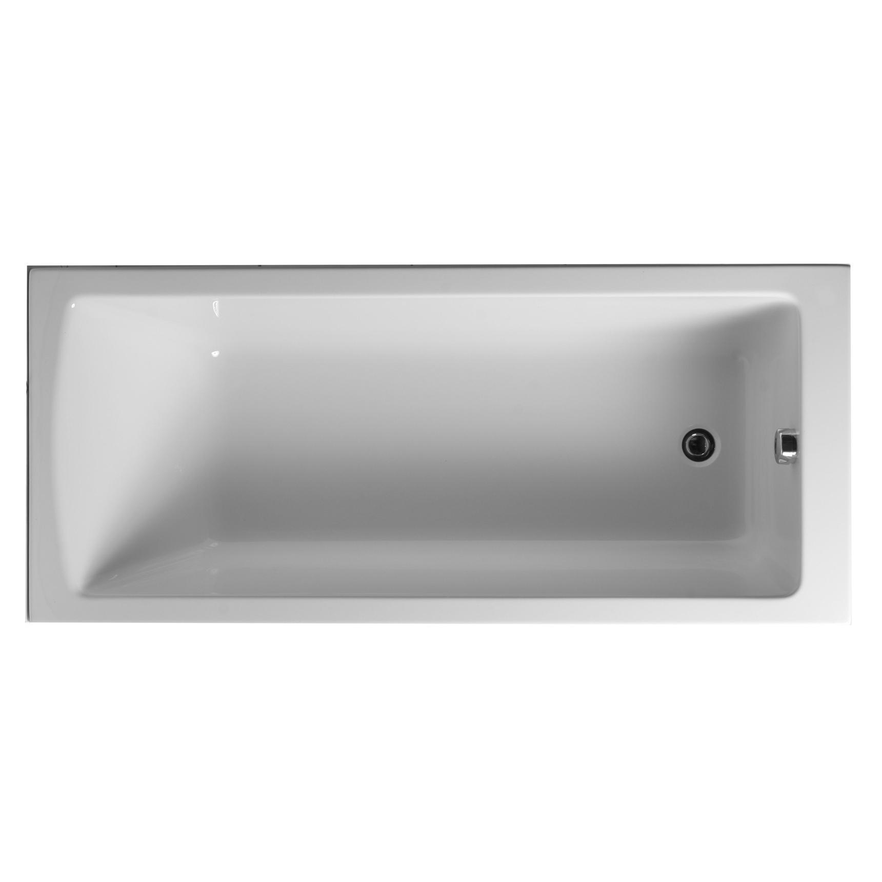 Акриловая ванна Vitra Neon 170x75 без гидромассажа цены
