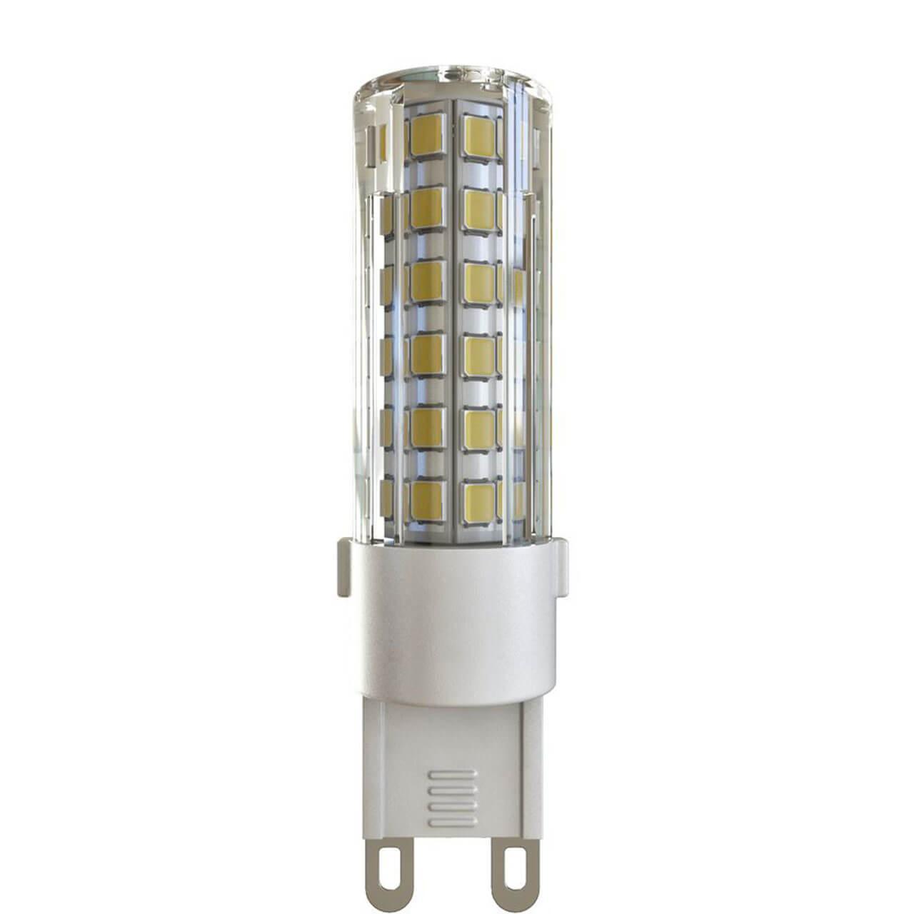 Лампа светодиодная G9 6W 4000К кукуруза прозрачная VG9-K1G9cold6W 7035 lightstar лампа светодиодная lightstar кукуруза прозрачная e14 6w 4200k 940354