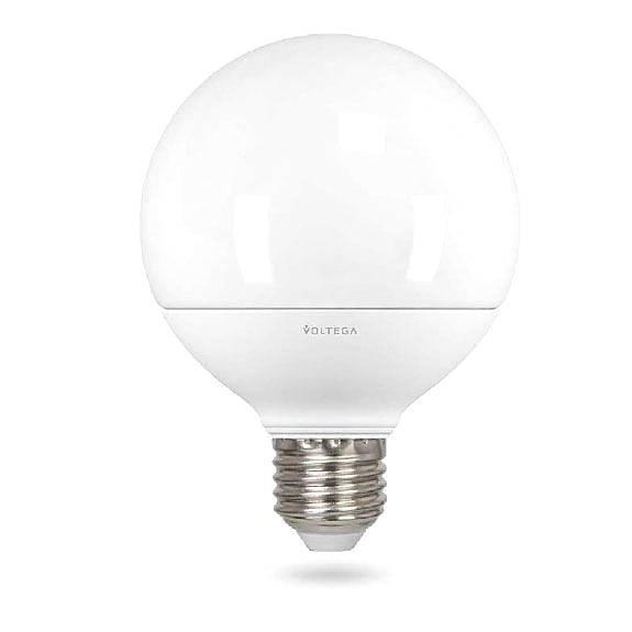 Лампа светодиодная E27 12W 2800К матовая VG2-G2E27warm12W 4871 voltega лампа светодиодная voltega таблетка матовая gx53 7 2w 2800к vg2 t2gx53warm7w 5739