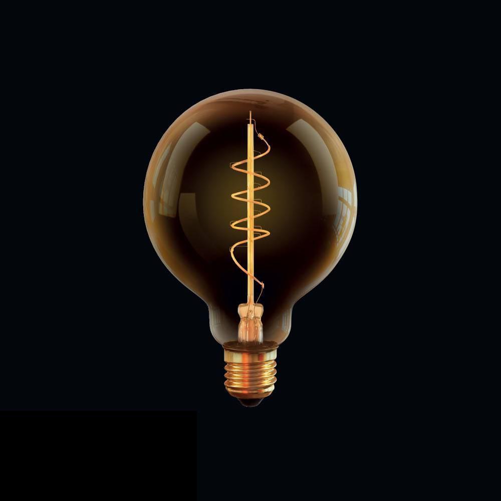 Лампа светодиодная диммируемая E27 4W 2800К прозрачная VG10-G95GE27warm4W-FB 7076 voltega лампа светодиодная диммируемая voltega груша прозрачная e27 8w 4000k vg10 а1e27cold8w fd 5489