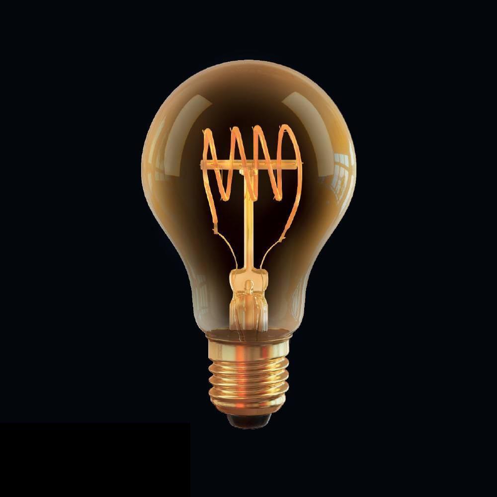 Лампа светодиодная диммируемая E27 4W 2800К прозрачная VG10-A60GE27warm4W-FB 7078 voltega лампа светодиодная диммируемая voltega груша прозрачная e27 8w 4000k vg10 а1e27cold8w fd 5489
