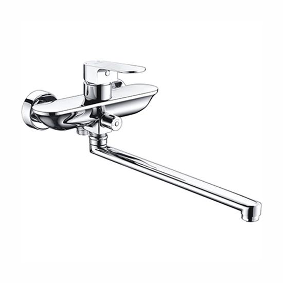 Смеситель WasserKRAFT Dinkel 5802L для ванны смеситель wasserkraft dinkel 5803 9061509
