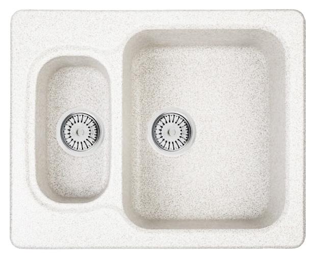Кухонная мойка Whinstone Гарда 1 1/2B белый кухонная мойка teka classic 1b 1 2d microtex