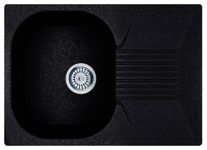 Кухонная мойка Whinstone Рона 1B 1D черный кухонная мойка teka 580 x 500 1b 1 2d matt