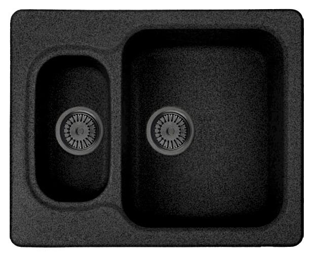 Кухонная мойка Whinstone Гарда 1 1/2B черный кухонная мойка teka princess 1 1 2b 1 2d