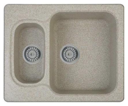 Кухонная мойка Whinstone Гарда 1 1/2B бежевый кухонная мойка teka classic 1b 1 2d microtex
